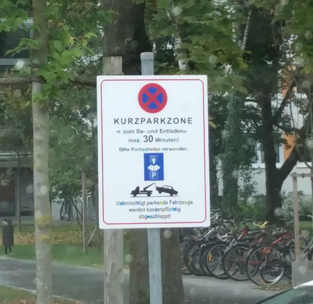 Schild-Falschparker